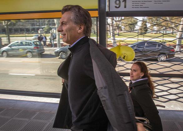 El primo del presidente Mauricio Macri (en la gráfica) recibió pagos por obras en la Ciudad de Buenos Aires entre 2007 y 2015 por $1.093 millones. Foto tomada de la cuenta Flickr del Gobierno de la Ciudad de Buenos Aires