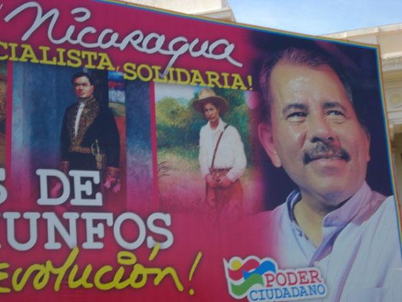 Ortega no tiene rivales de peso en los comicios del domingo. Foto tomada de la cuenta Flickr de Renata Ávila